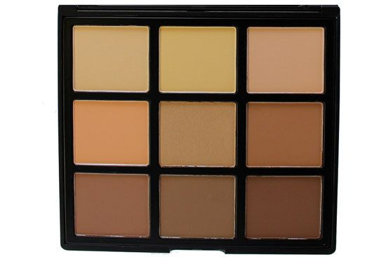 Morphe Brushes 9C - 9 Color Highlight & Contour Palette i gruppen Smink / Ansikte / Contour kit hos Brallis AB (MB-9C)