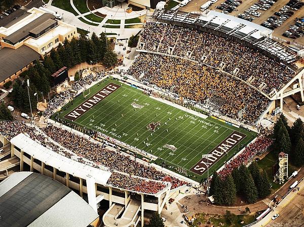 University of Wyoming....War Memorial Stadium