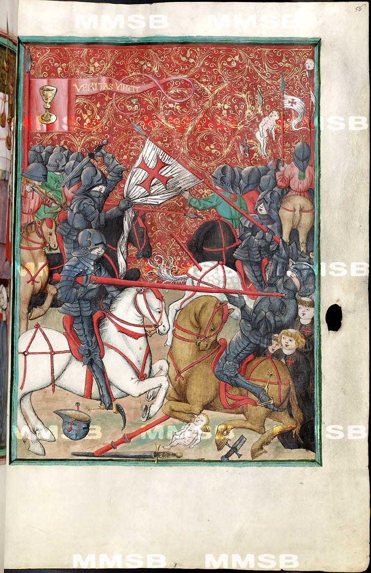 Jenský kodex [Antithesis Christi et Antichristi] Datace: 1490-1510