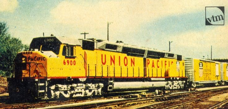 DD 40 X Union Pacific