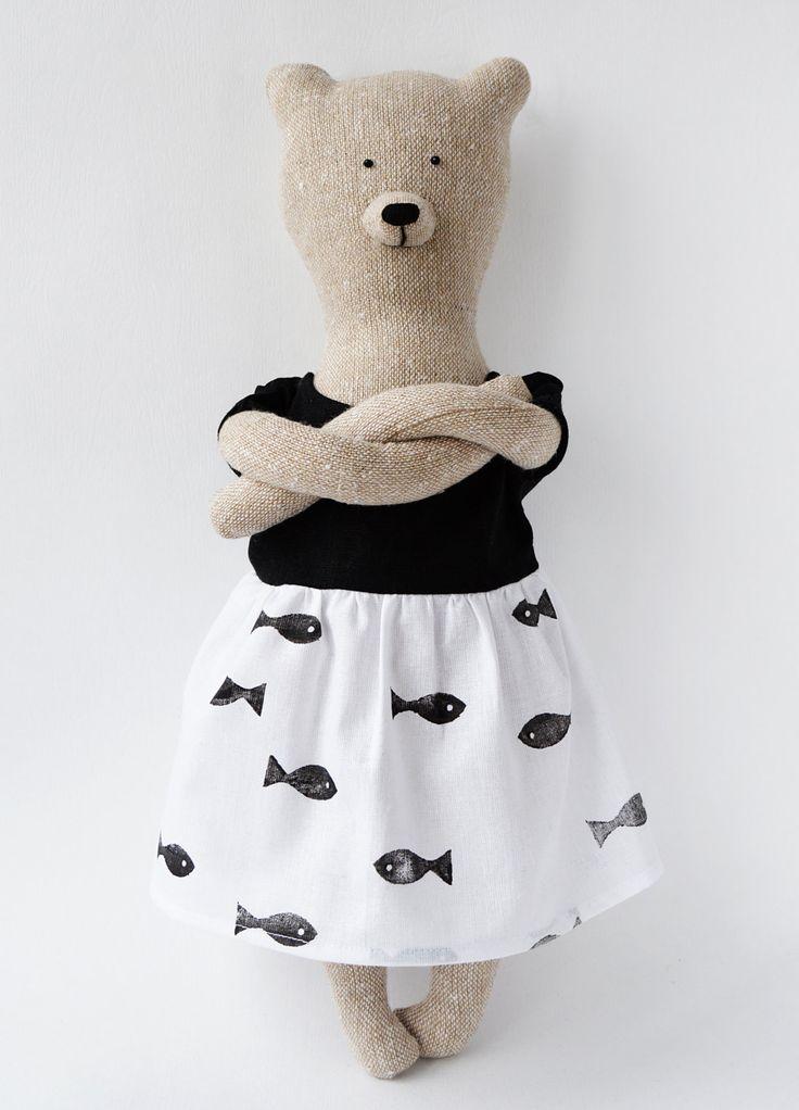 Louise the bear by PhilomenaKloss on Etsy