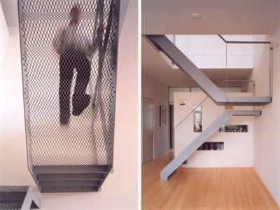 Best New Mild Steel Staircase Design Expanded Steel Mesh 400 x 300