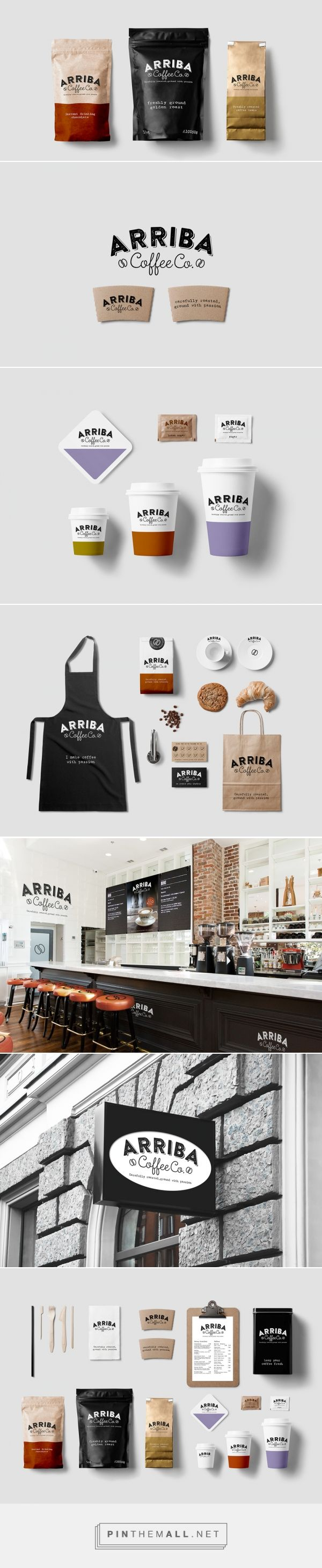 Arriba Coffee Co - created via http://pinthemall.net