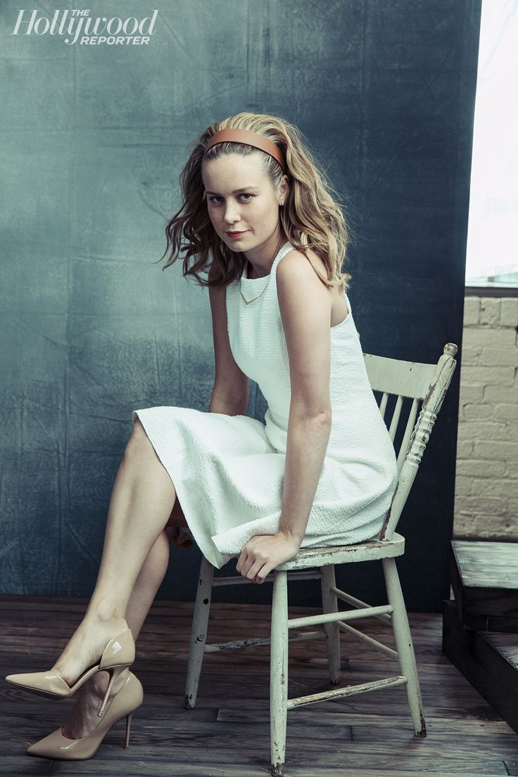 Brie Larson Natural Hair Color