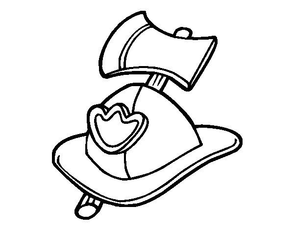 Fireman Boots Coloring Page Coloring Pages