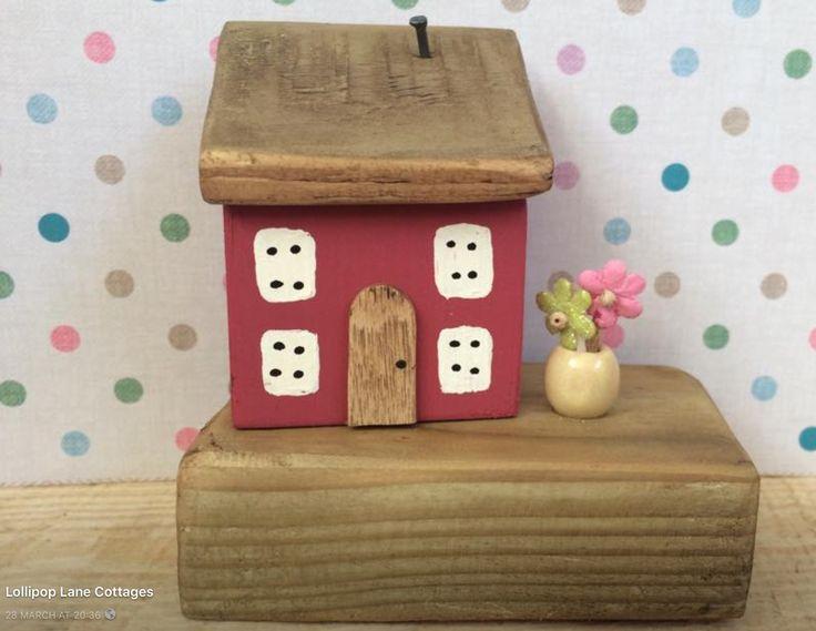 Lollipop Lane Cottages made by Sharon evens .