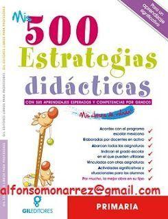 LIBROS: ESTRATEGIAS DIDÁCTICAS Y SUS COMPETENCIAS PARA LA ...