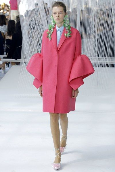 See the complete Delpozo Spring 2017 Ready-to-Wear collection. pink dress