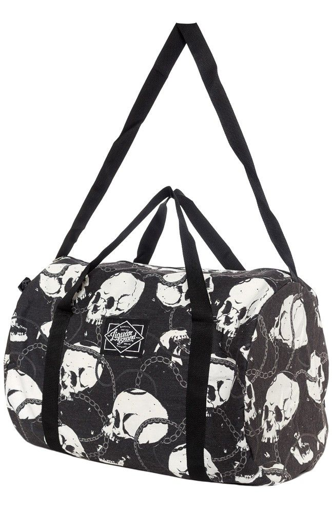 Liquorbrand Skull And Chains Duffle Bag Never Enough Bags In 2018 Pinterest Purses Handbags