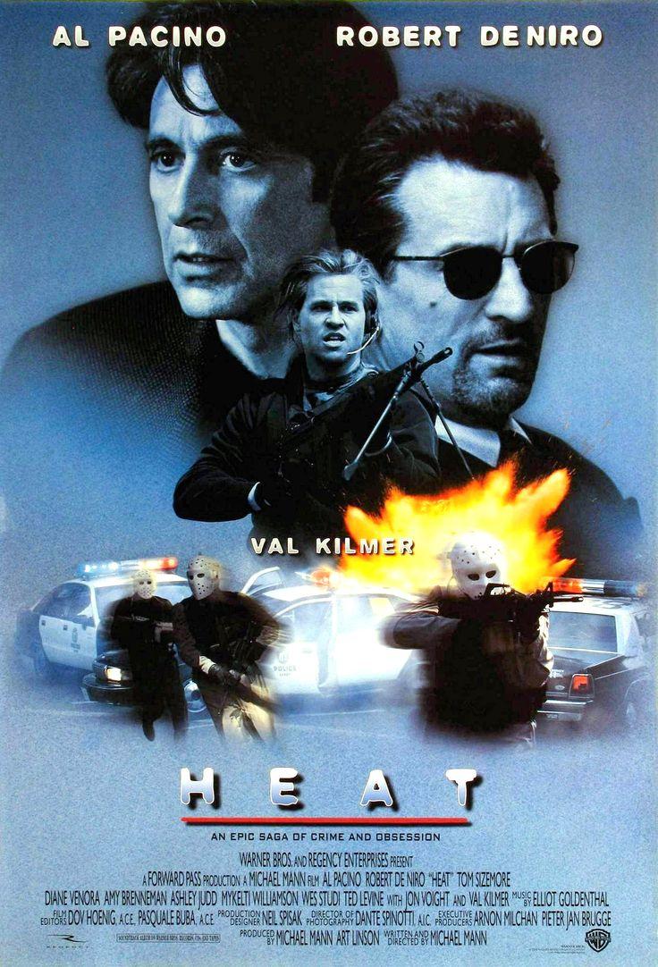 """""""FUEGO CONTRA FUEGO - HEAT"""" (1995) ►Ver Online: http://www.peliculasmas.com/intriga/10054/ver/robert-de-niro-fuego-contra-fuego/"""