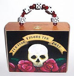 Art: Gamblers Luck Cigar Box Purse