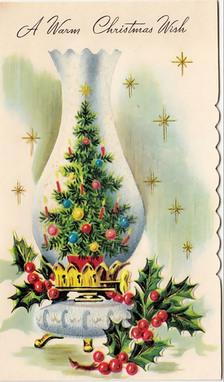 Рождественские открытки в нем, открытка днем рождения