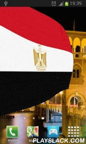 Egypt Flag Live Wallpaper  Android App - playslack.com ,  Egypt Flag Live Wallpaper is developed in Opengl and is compatible with both phones and tablets. It features beautiful images of Egypt overlaid with the Egyptian Flag or Coat of Arms billowing in a gentle breeze.Double tap for the anthem of Egypt.Like us on facebook:http://www.facebook.com/wizzhardappsFollow us on twitter:https://twitter.com/wizzhard_appsAds are implemented in settings.