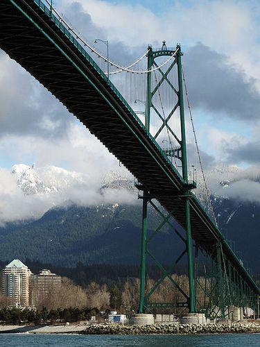 Lions Gate Bridge, Vancouver, British Columbia