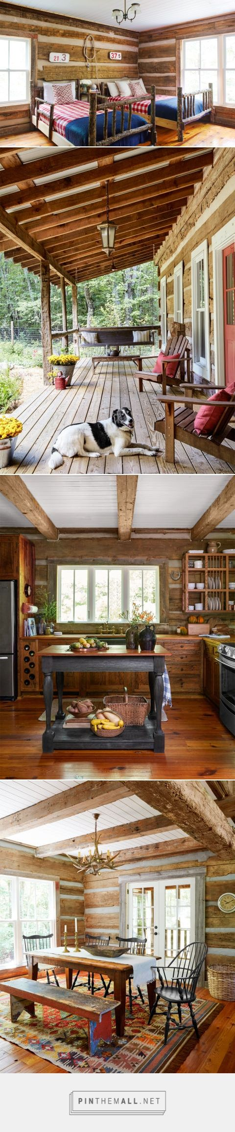 Rustic cabin furniture - Tennessee Log Cabin