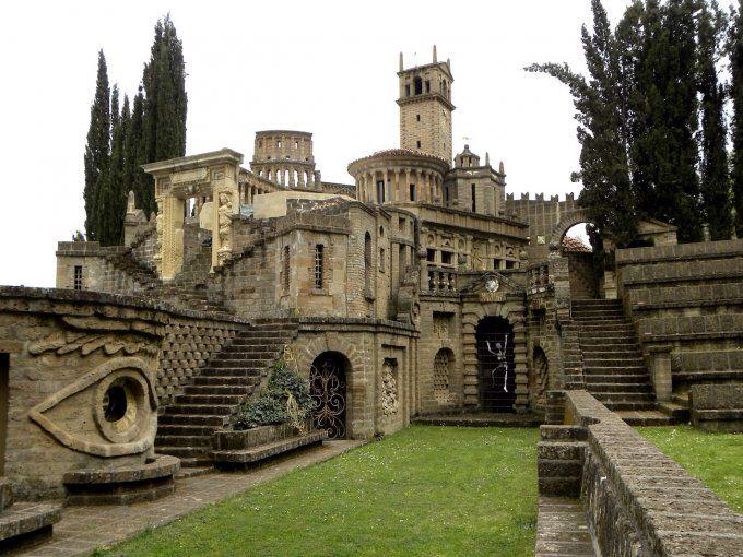 La Scarzuola, Montegabbione, Umbria, Italia