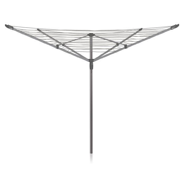 Was £64.99 > Now £49.99.  Save 23% off Addis 50 m 4-Arm Rotary Airer #3StarDeal, #HomeGarden, #Laundry, #LaundryCleaning, #RotaryAirers, #StorageOrganisation, #Under50