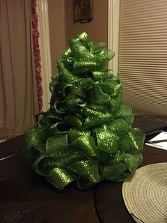 Mesh Christmas Tree decoration: