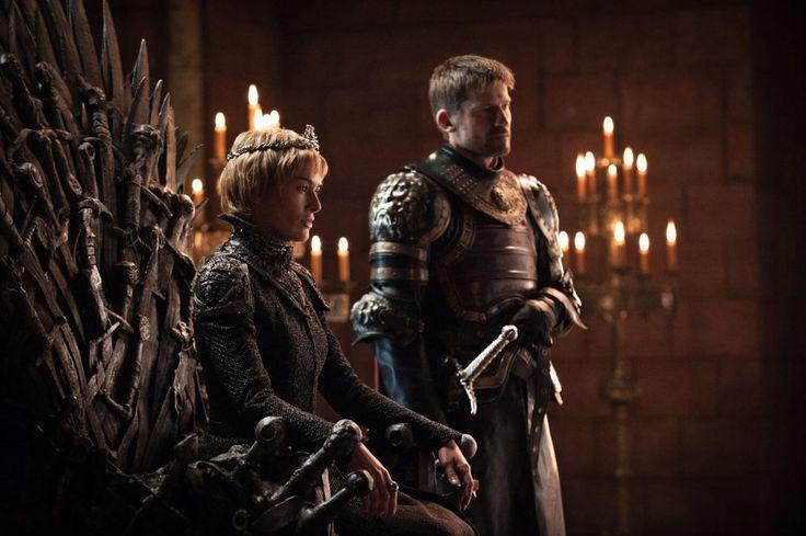 Game of Thrones - Season 7 - Cersei (Lena Heady) and Jaime Lannister (Nikolaj Coster-Waldau).