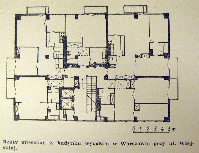 Wiejska 9 - Powojenny Modernizm
