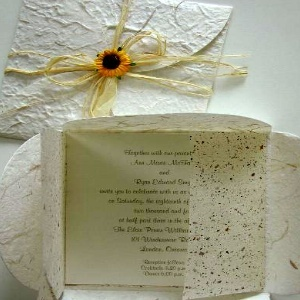 Recycled Paper Wedding Invitations Are The Perfect Choice For The Eco  Friendly Bride.