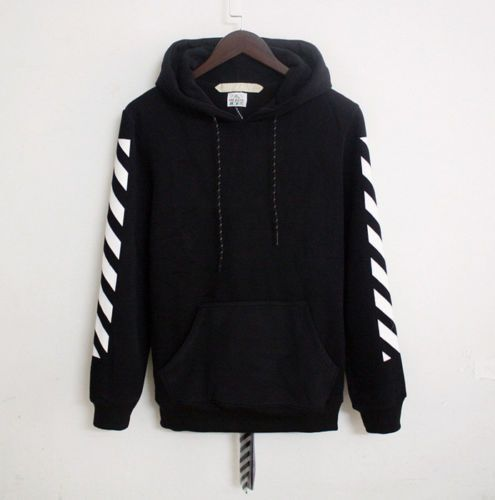 New-Striped-Off-White-Bape-Ape-Hoodie-Hooded-Pullover-Sweatshirt-Sweater-Unisex