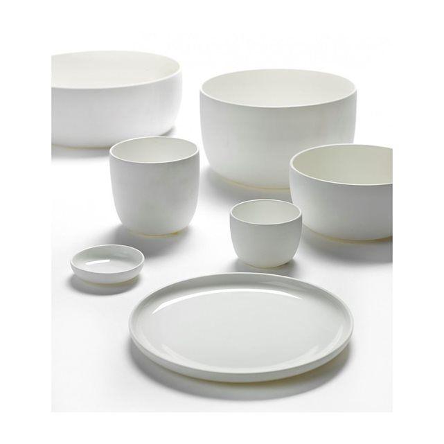 Assiette Plate Blanche M Diam 20 Base de Serax SERAX