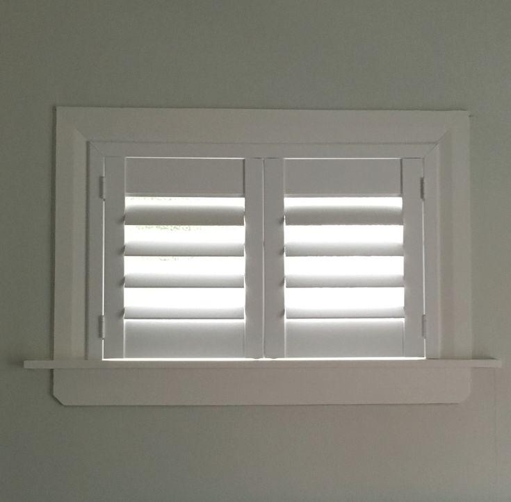 Best 25 basement window treatments ideas on pinterest for Shutter window treatment ideas