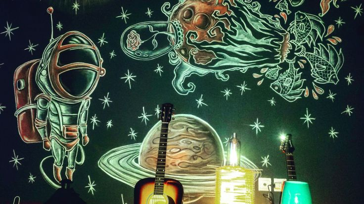 #wallmural #planet#stars#bardone