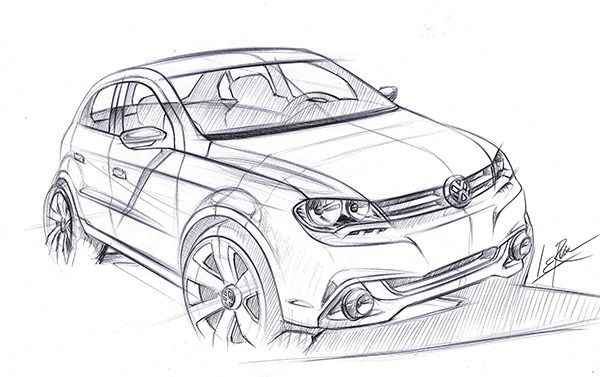 VW Gol Sport line on Behance