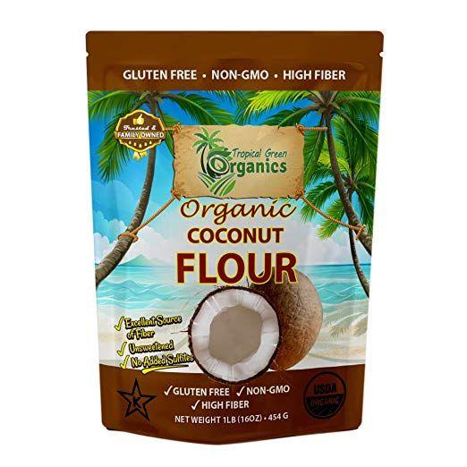 Amazon com : Organic Coconut Flour by Tropical Green