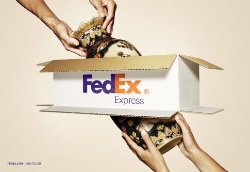 Fedex Express Through The Box | The Inspiration Room