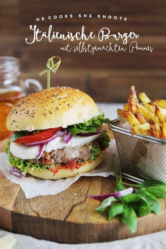 YYY - YummY fridaY - hecookssheshoots {Italienische Burger und selbstgemachte Pommes} - Restyling eines Knorr Klassikers