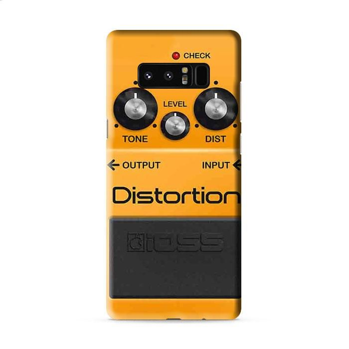Boss Distortion Pedal Samsung Galaxy Note 8 3D Case Caseperson
