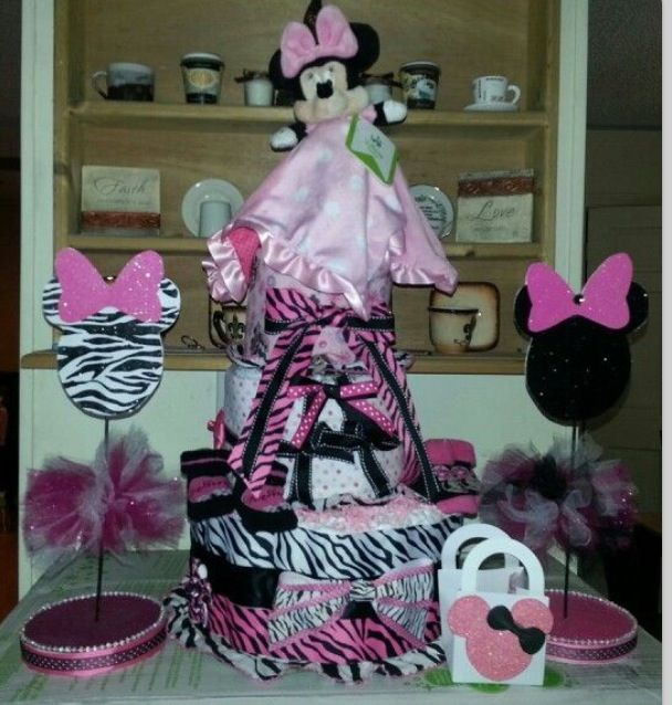 Minnie mouse baby shower decorations stuff to buy for Baby minnie mouse decoration ideas