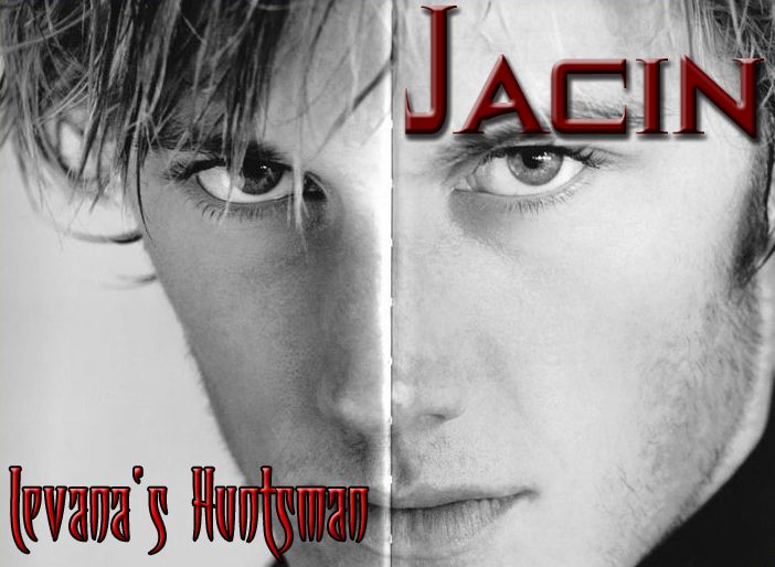 Alex Pettyfer as Jacin, the young Lunar bodyguard. I have heard rumors that he may be the love interest for Winter, and if that's true (given what little we know of him right now) I imagine he'll be placed in the position of Huntsman in the adapted Snow White tale. Thus, with the black and white photo, I chose a deep blood-red for my font, because I associate those 3 colors with Snow White very heavily.