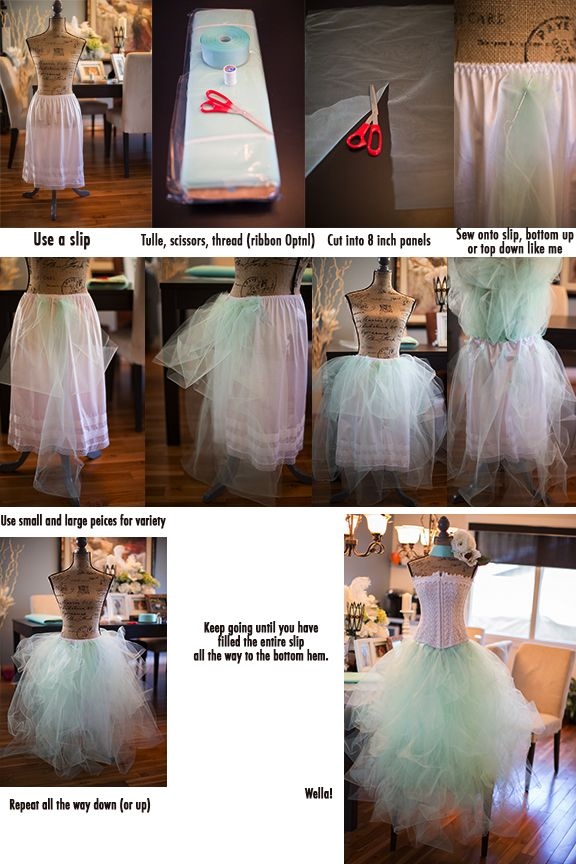 Chasing Light: How to Make a Tulle Skirt