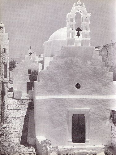 Chora Amorgos,1950ies