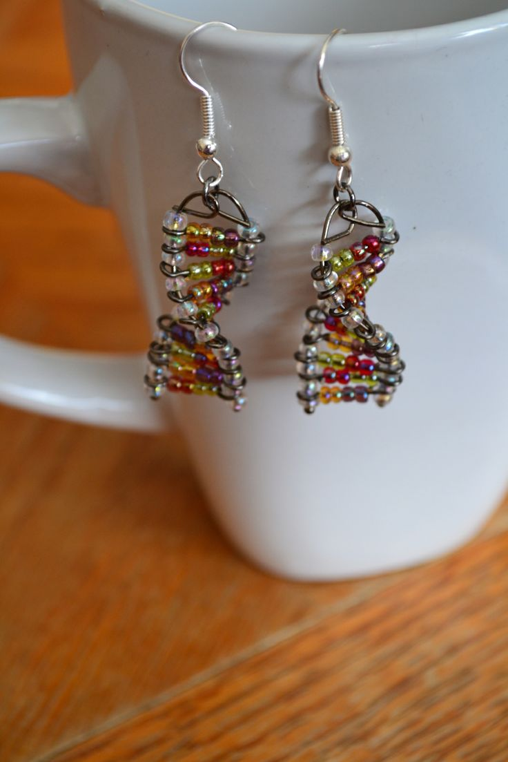 25+ unique diy dna earrings ideas on pinterest | nerd clothes