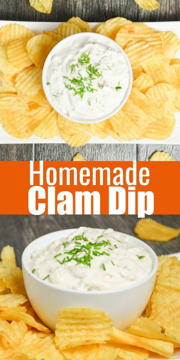 An Easy To Make Homemade Clam Dip Recipe Like Granny Used To