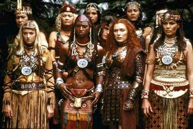 amazonian warrior women