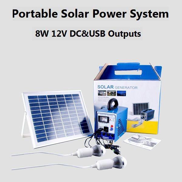 8W Multi-function Portable Solar Power System  sc 1 st  Pinterest & 34 best Solar/Kits images on Pinterest | Solar lights Solar ...