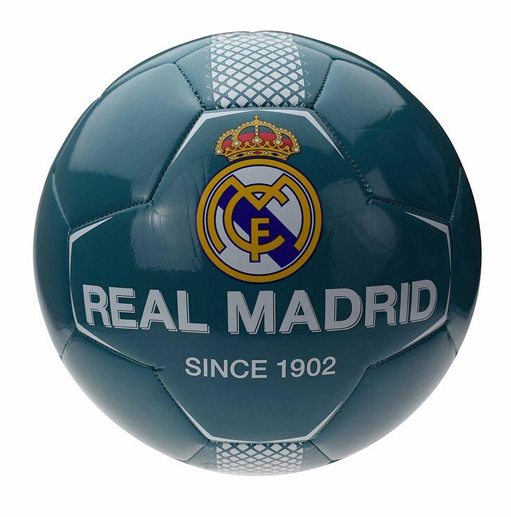 Real Madrid Ballon de Football Mixte Enfant, Bleu. #adidas #real_madrid #team_real_madrid #foot #football #supporter_attitude #football_attitude #sport_attitude #sport #ballon