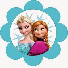BulutsMom: Disney Frozen - Karlar Ülkesi Temalı Doğum Günü Banner Harfleri
