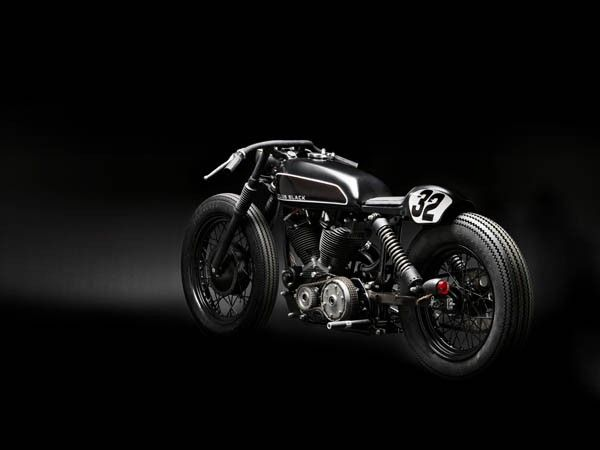 CLUB BLACK #2 - Harley Davidson Sportster from the crazy monkeys