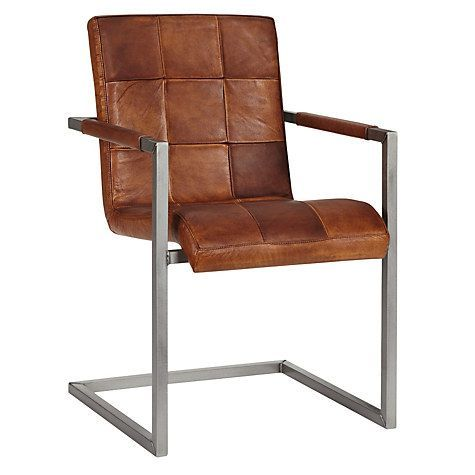 Buy John Lewis Classico Leather Office/Dining Chair Online at johnlewis.com
