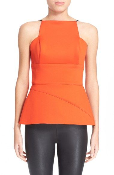 Hunter Bell 'Maizie' Peplum Top available at #Nordstrom
