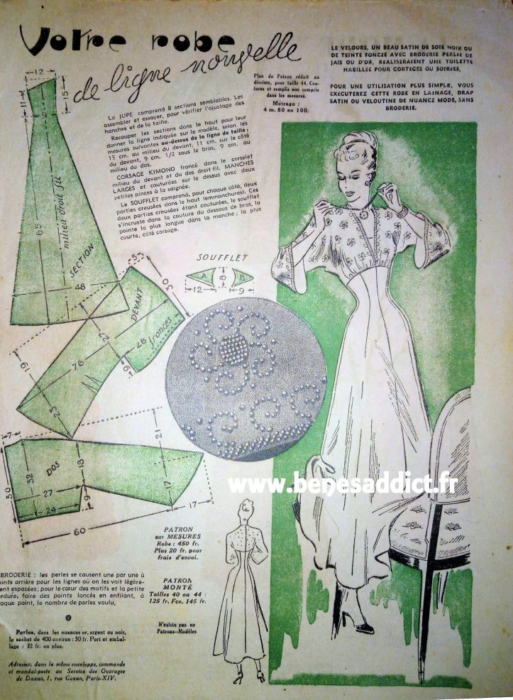 Le Petit Echo de La Mode Juin 1953\