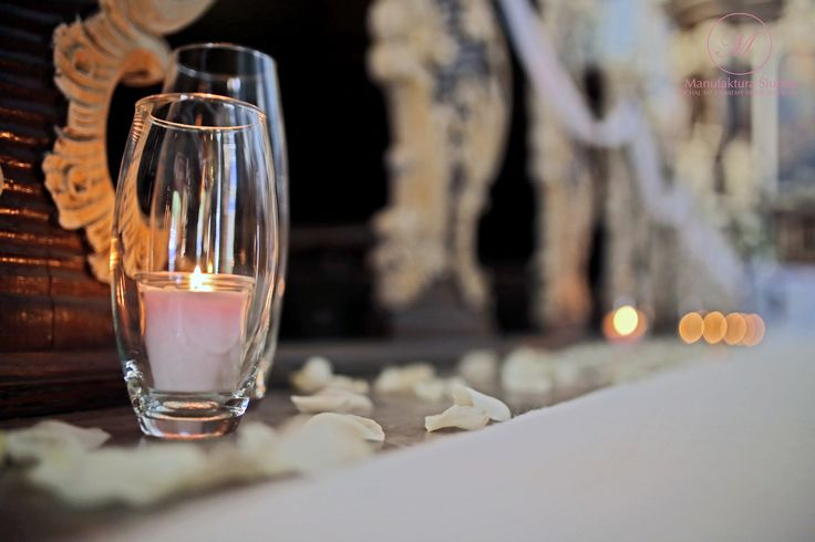 #church#wedding#White#candles#carpet#flowers