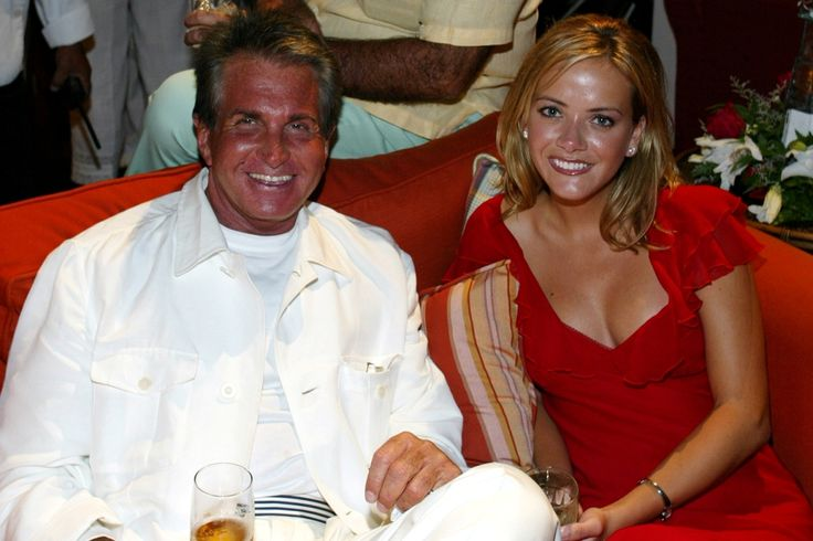 George Hamilton and Tirzah Roberts at Altima 95 East party at Casa de Campo